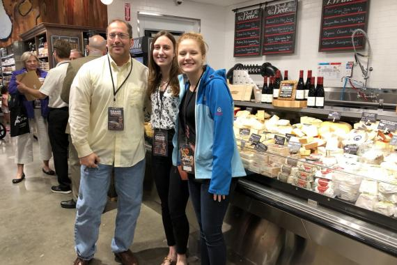 Zurka team at the grand opening of Balducci's Food Lover's Market in Reston, VA